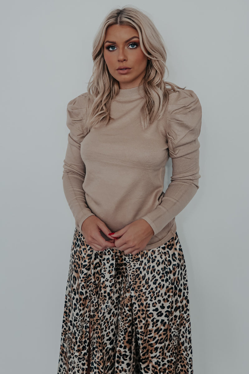 Give You The Best Top: Taupe