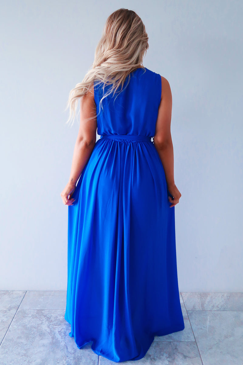Take It All In Maxi: Royal Blue