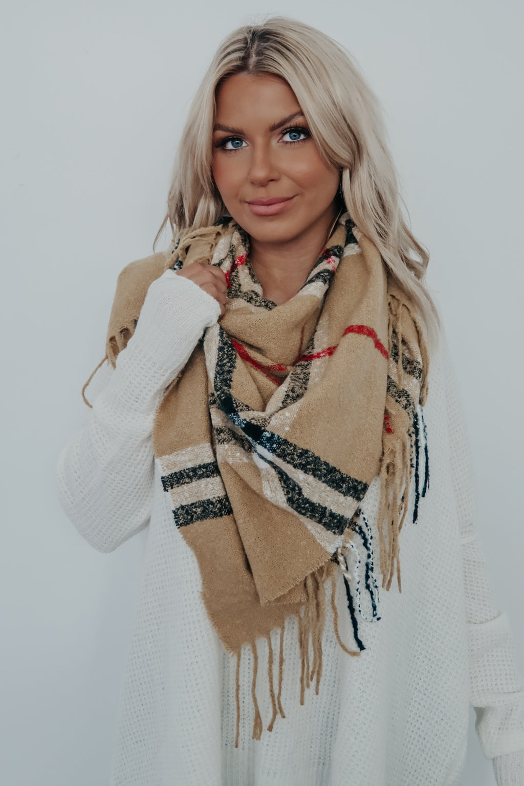 REORDER: A Little Chill Scarf: Multi
