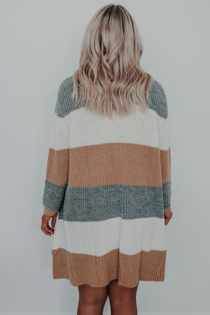 Perfect Timing Cardigan: Multi