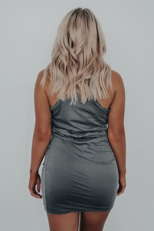 Everyday Escape Dress: Charcoal