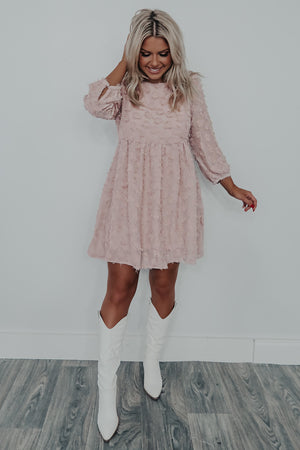 So Girly Dress: Blush