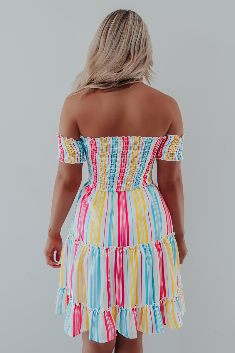 Colorful Vibes Dress: Multi