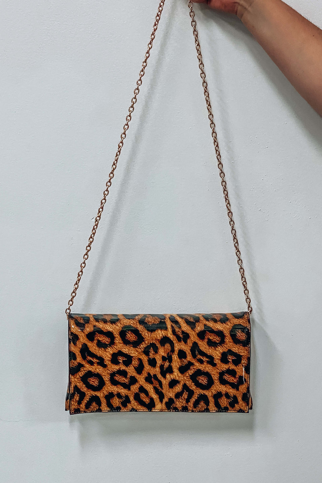 Recharged & Ready Purse: Cheetah