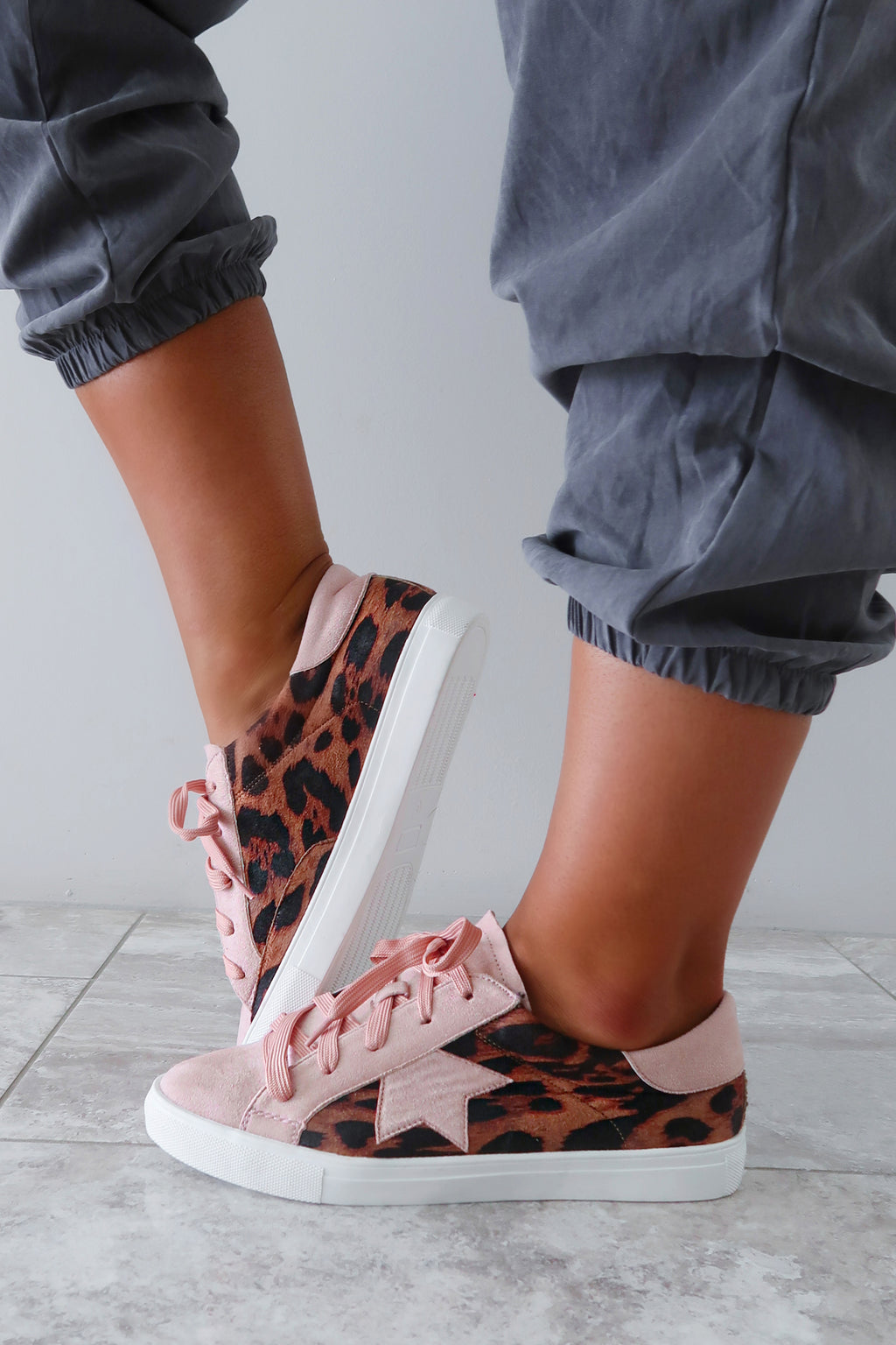 See You At The Rock Show Sneakers: Blush/Multi