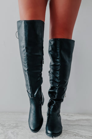 Back On Top Boots: Black