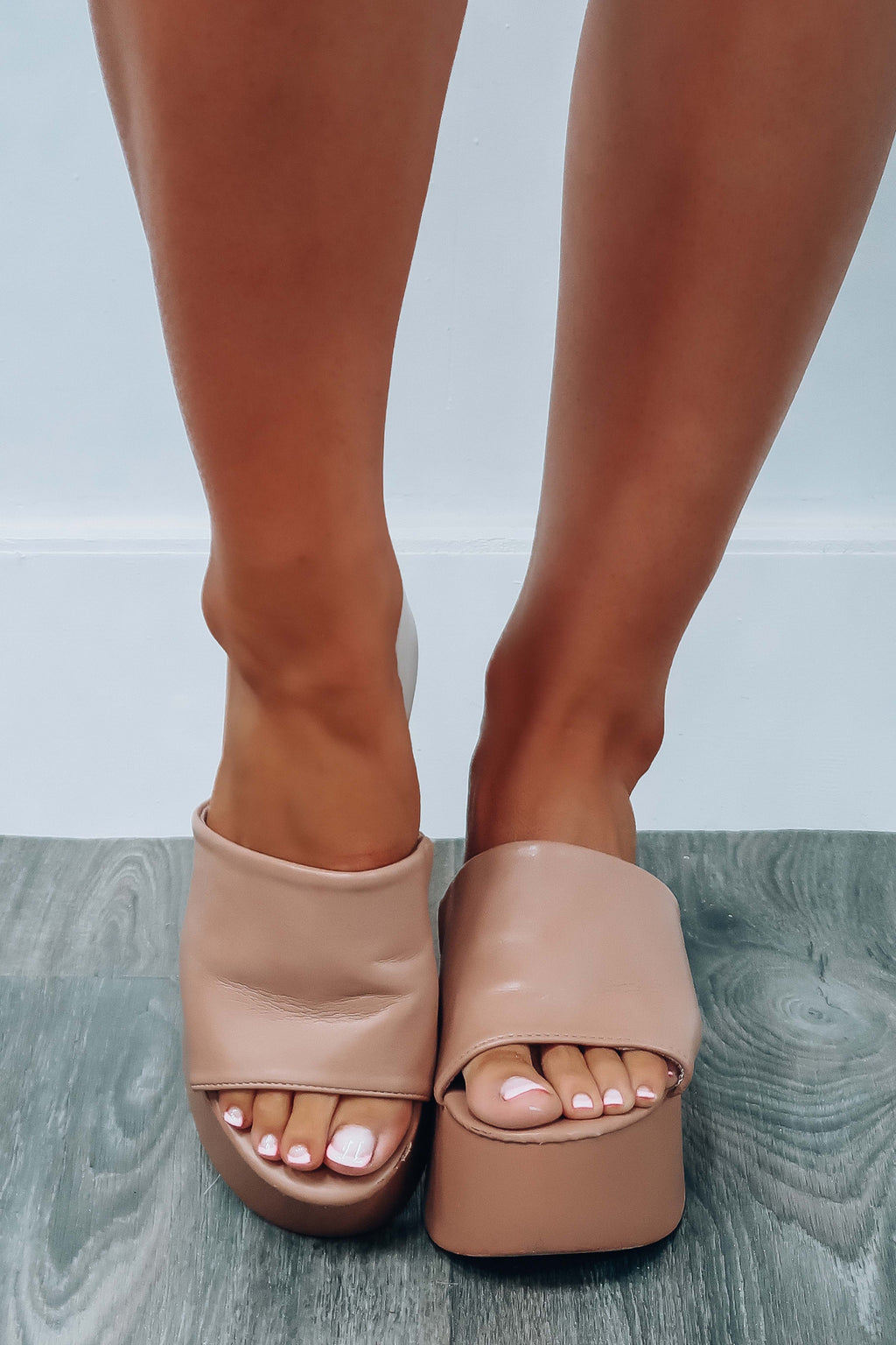 RESTOCK: For The Look Wedges: Natural