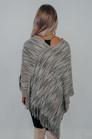 Feel The Cold Poncho: Multi