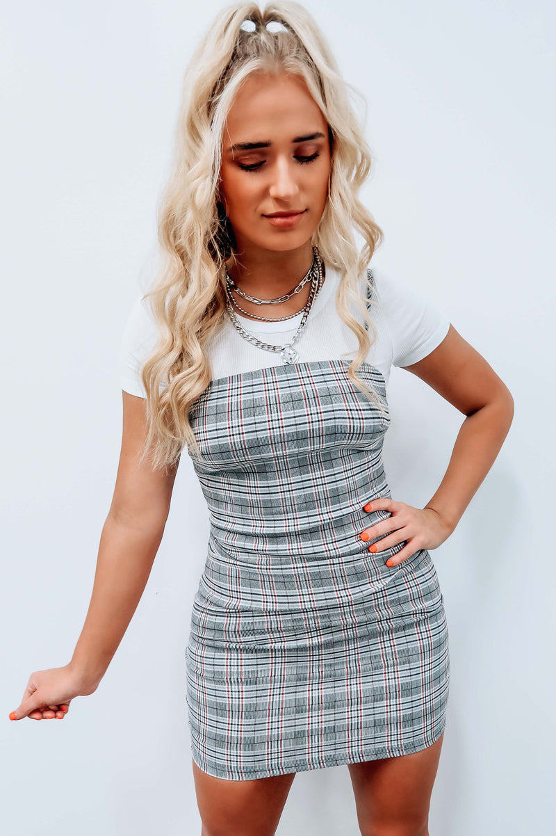 Class Is In Dress: Gray/Multi