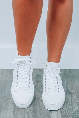 Find Them All Sneakers: White