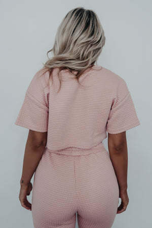 Let's Stay In Set: Baby Pink