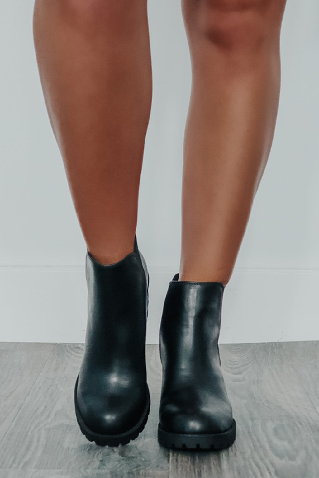 Walking By Booties: Black
