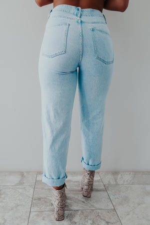 All About It Jeans: Light Denim