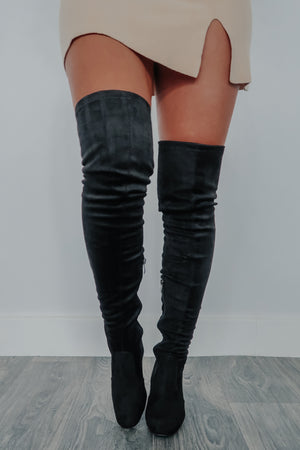 Fashion Icon Boots: Black
