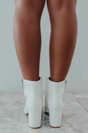 I'm All In Booties: White