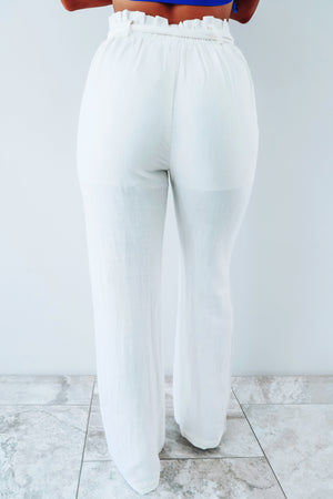Under The Fireworks Pants: Off White