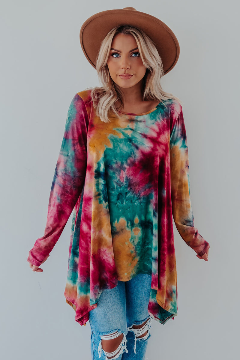 Brand New Day Tunic: Multi