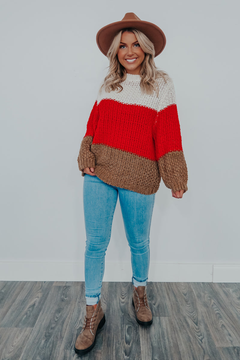 Harvest Mornings Sweater: Multi