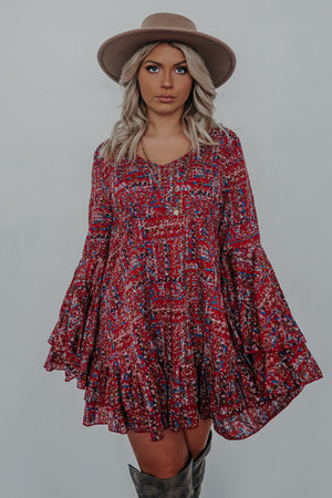 Picture Perfect Dress: Multi