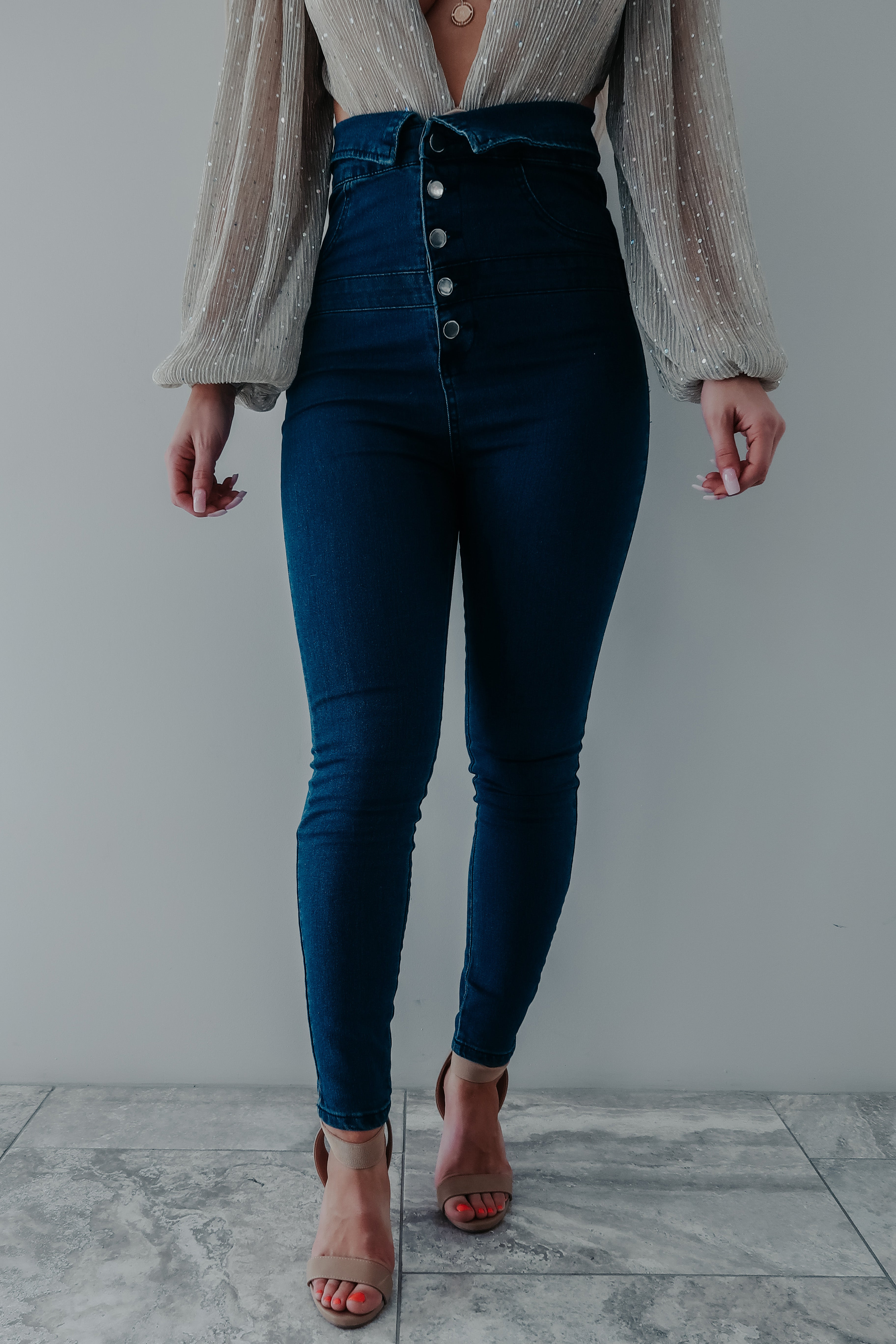 Denim Dreams Jeans: Dark Denim