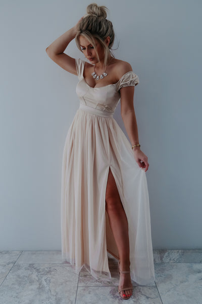 Enchant My Dreams Maxi: Champagne