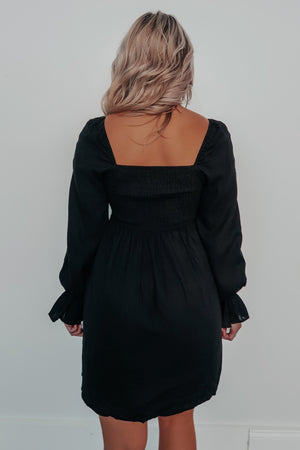 Can't Be Found Dress: Black