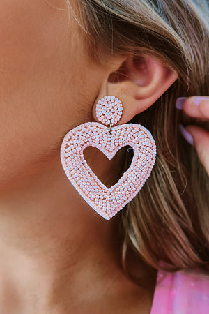 Only For You Earrings: Blush