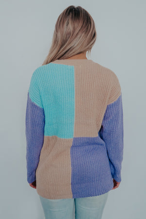 Far From Here Sweater: Multi