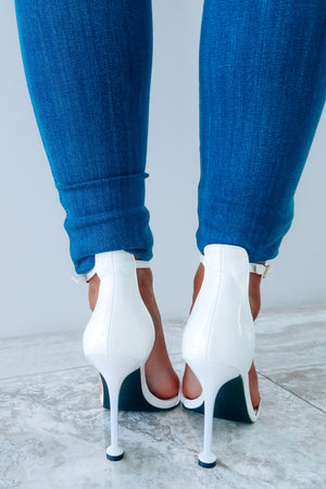 City Vibes Heels: White