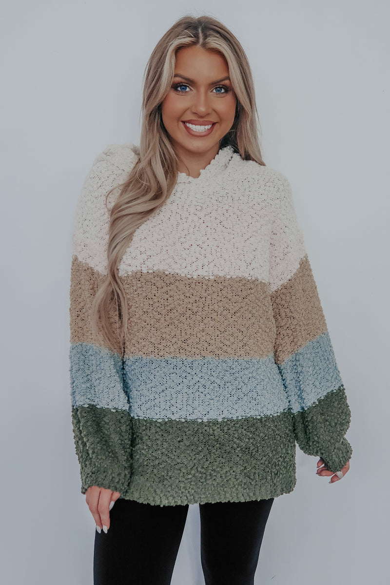 Stay Chill Sweater: Multi