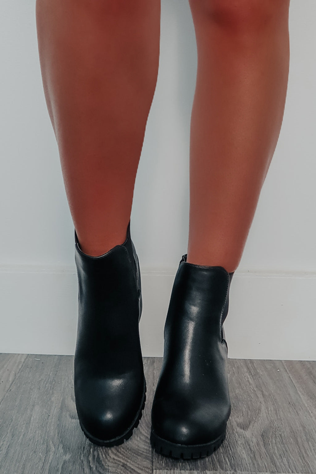 REEORDER: Fall Is Here Booties: Black