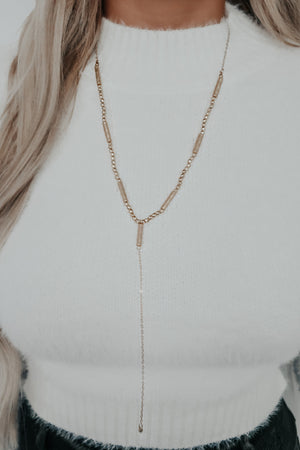 Cool Wish Necklace: Gold