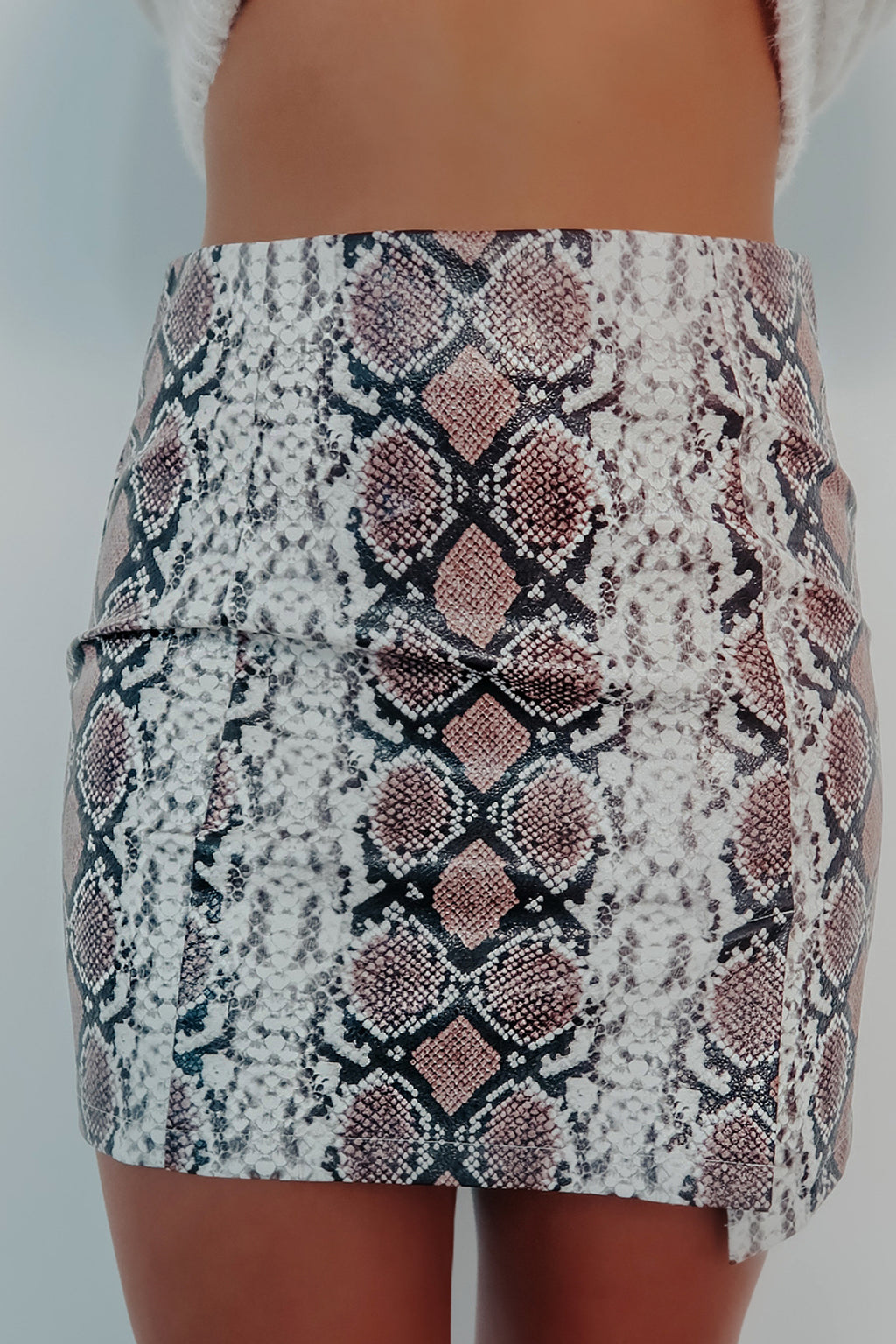 So Sneaky Skirt: Multi