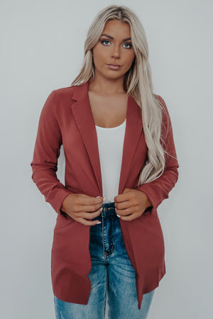 Good Intentions Blazer: Brick