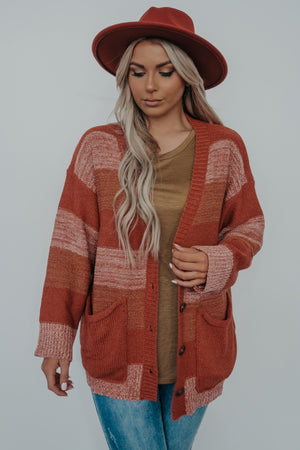 Mountain Roads Cardigan: Multi