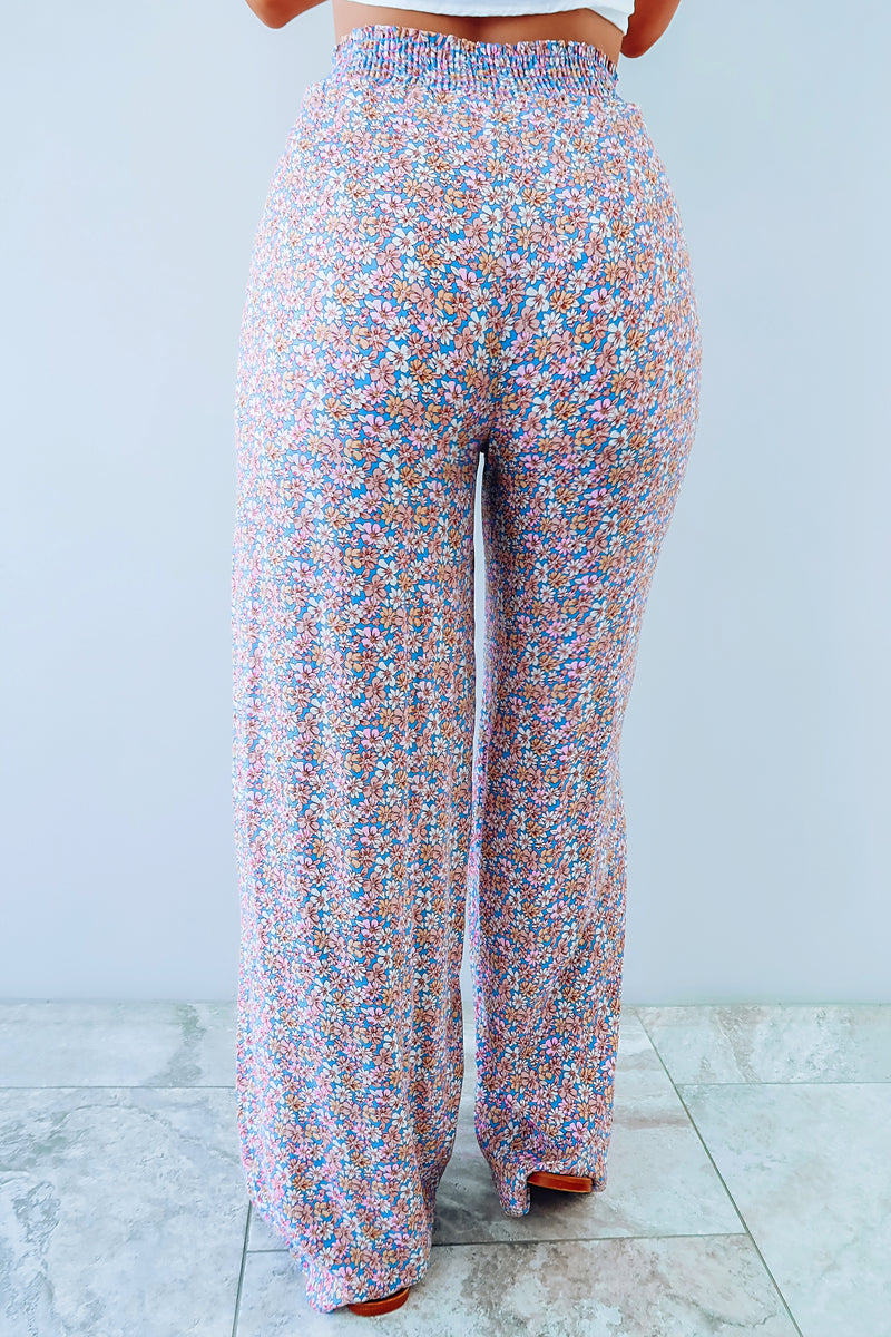 Flowers For All Pants: Multi