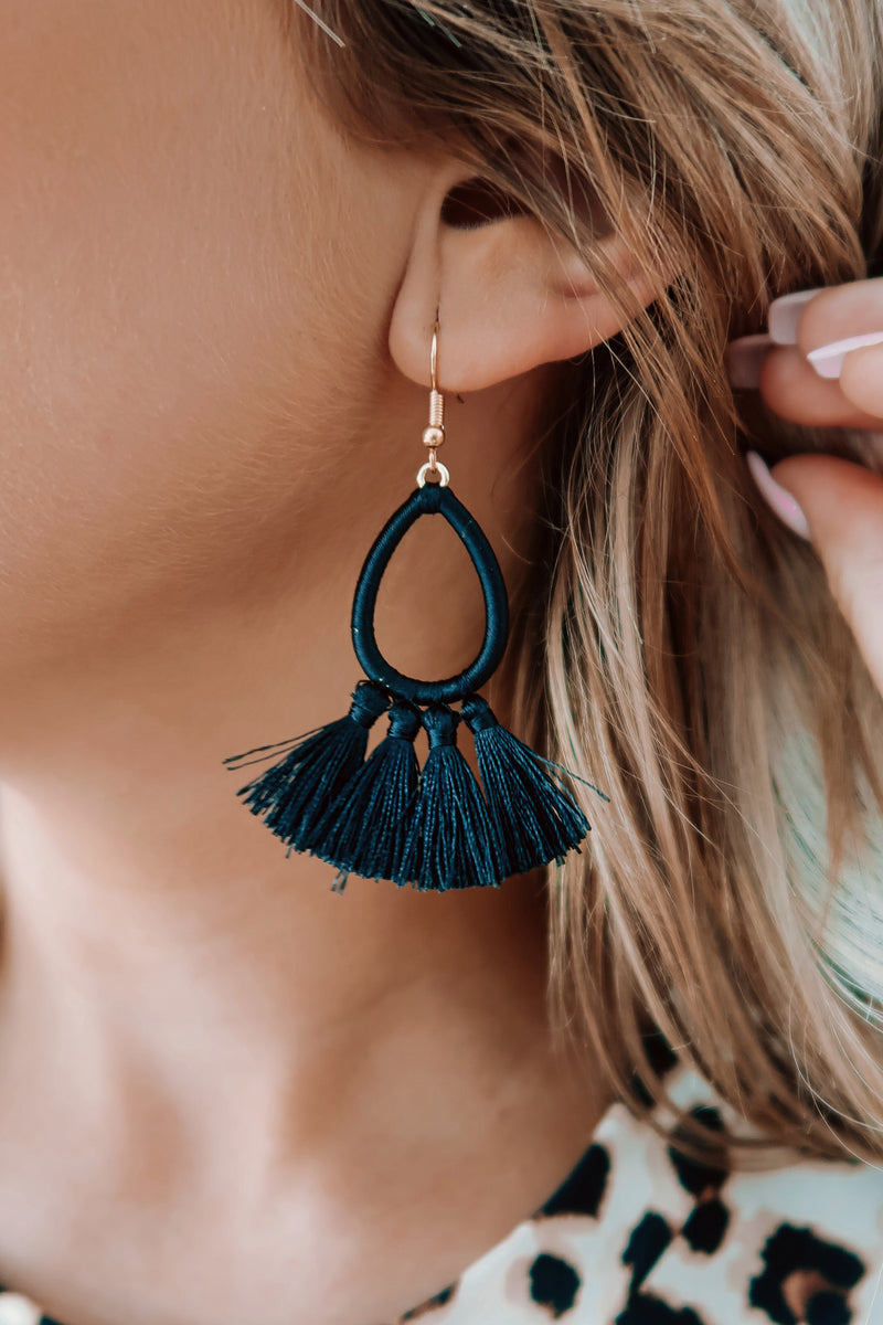 All About Her Earrings: Black