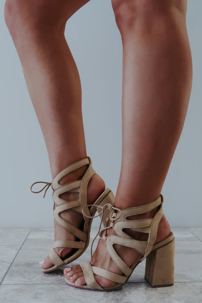 My Own Journey Heels: Nude