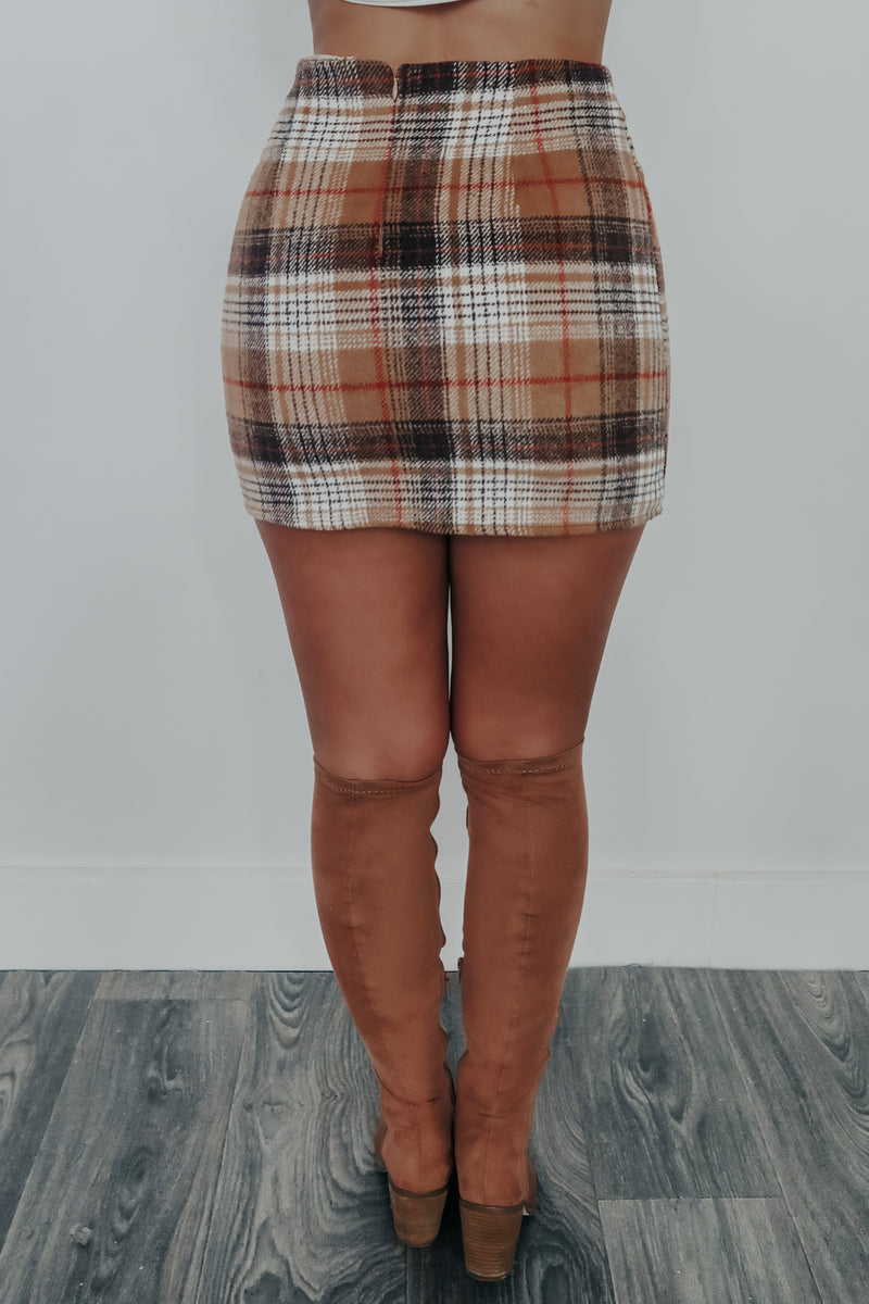 Back To Class Skirt: Multi