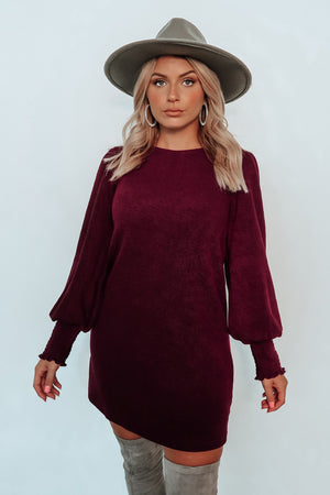 Find Yourself Dress: Plum