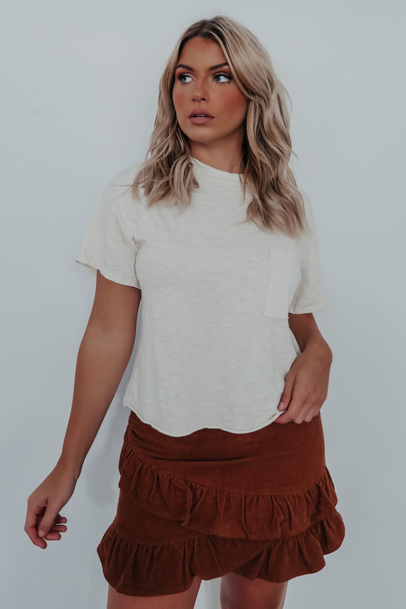 Fresh New Start Top: Sand