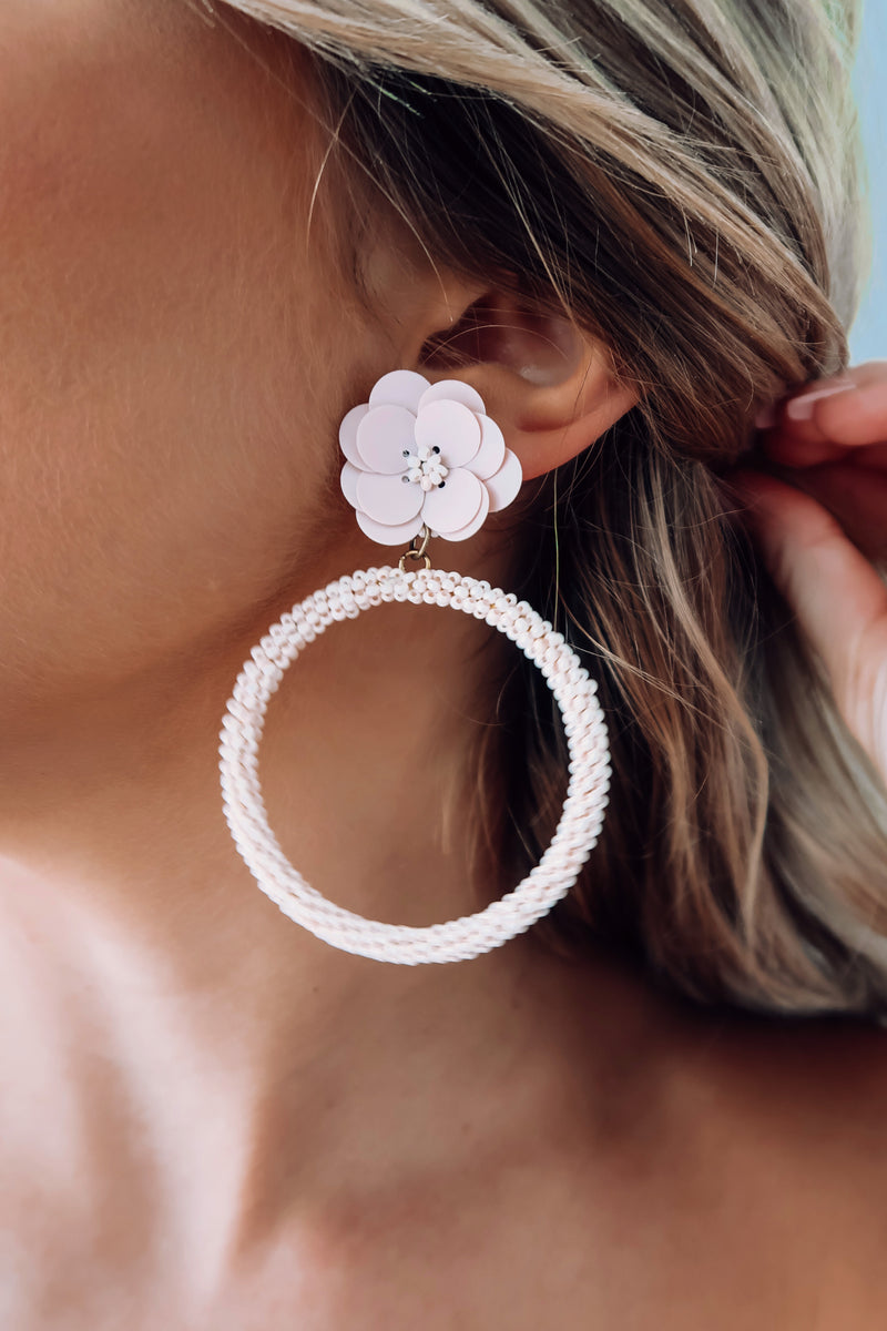 Picked For Me Earrings: Blush