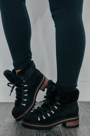Winter Weather Boots: Black