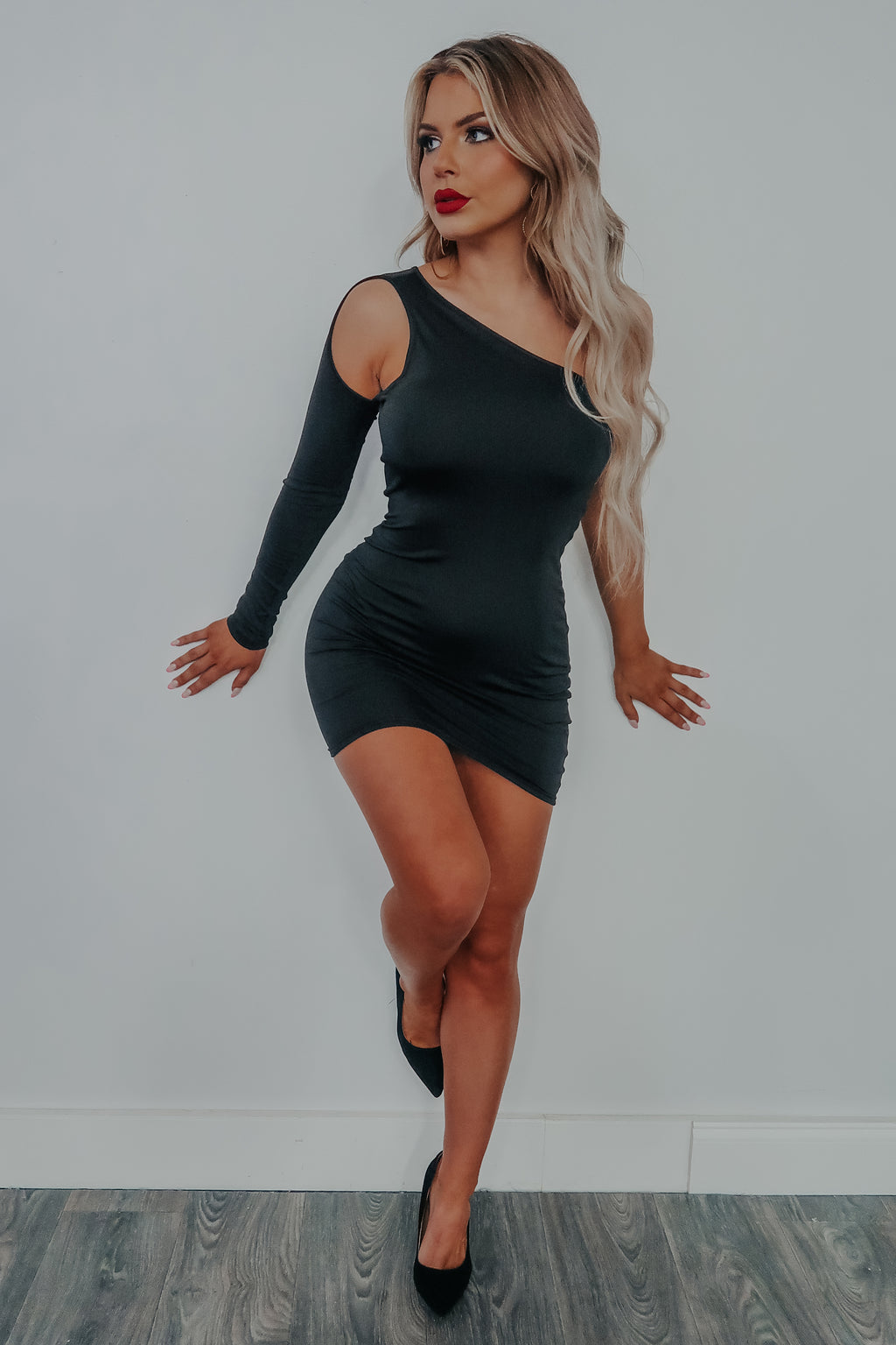 Girls Night Out Dress: Black