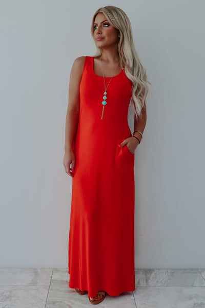 More Than A Feeling Maxi: Red