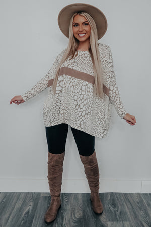 Cuddles All Day Tunic: Multi