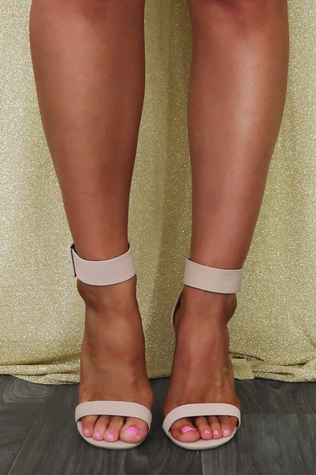 Date Night Heels: Nude