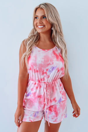 So Sweet Romper: Multi