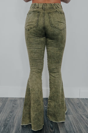 This Is The Way Bell Bottoms: Olive
