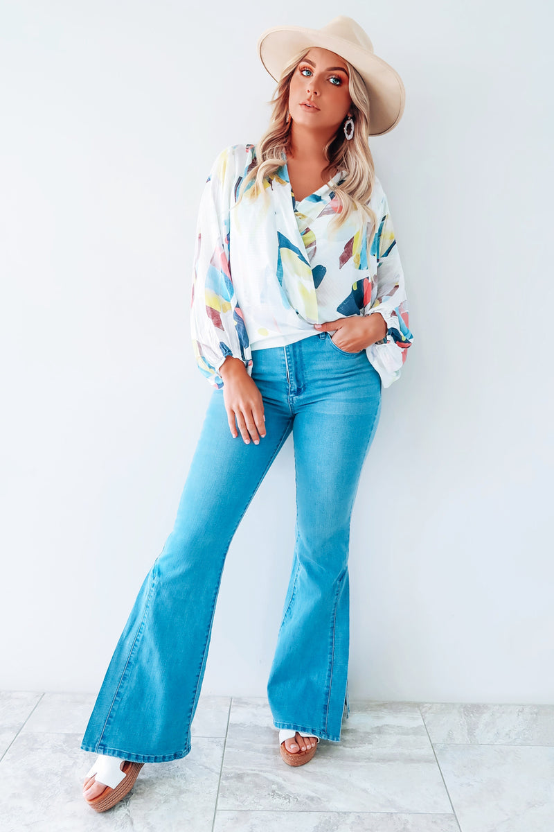 Feeling So Fab Blouse: Multi